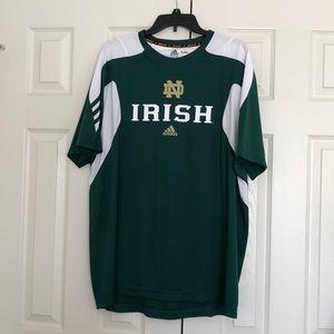 Notre Dame sideline tee shirt